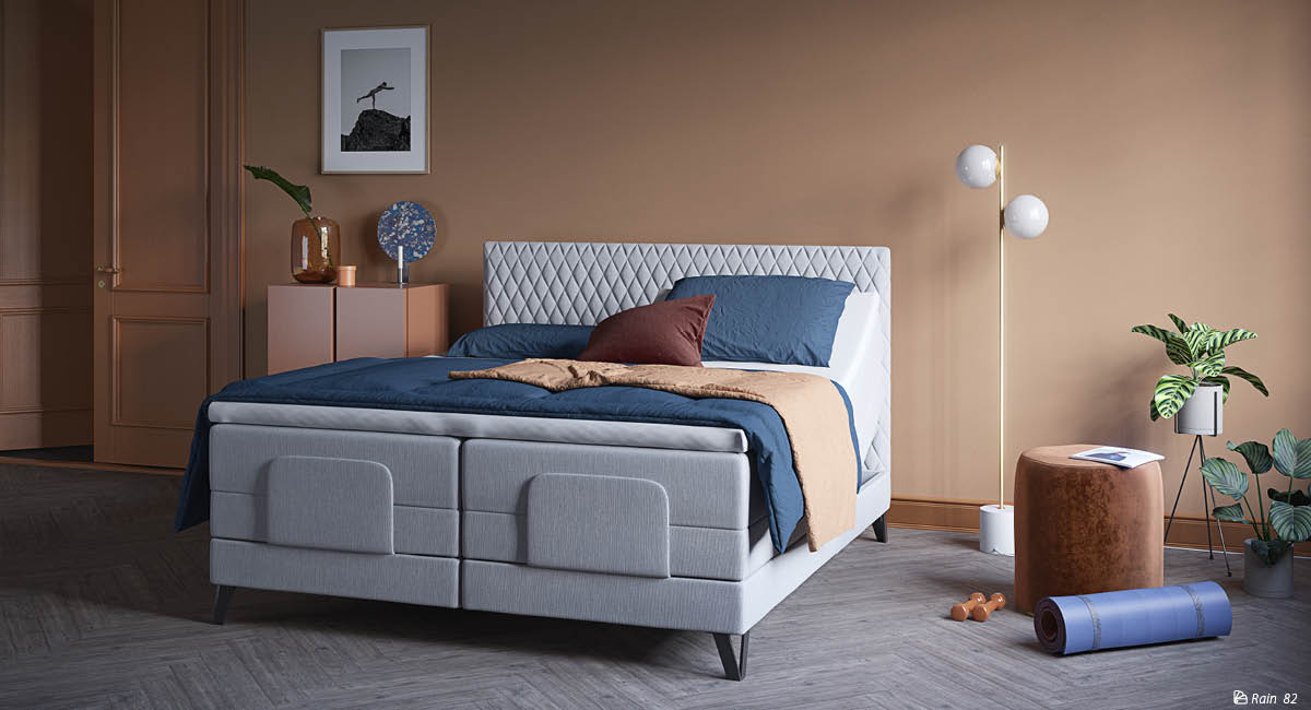 Wonderland 532 and 733 adjustable bed