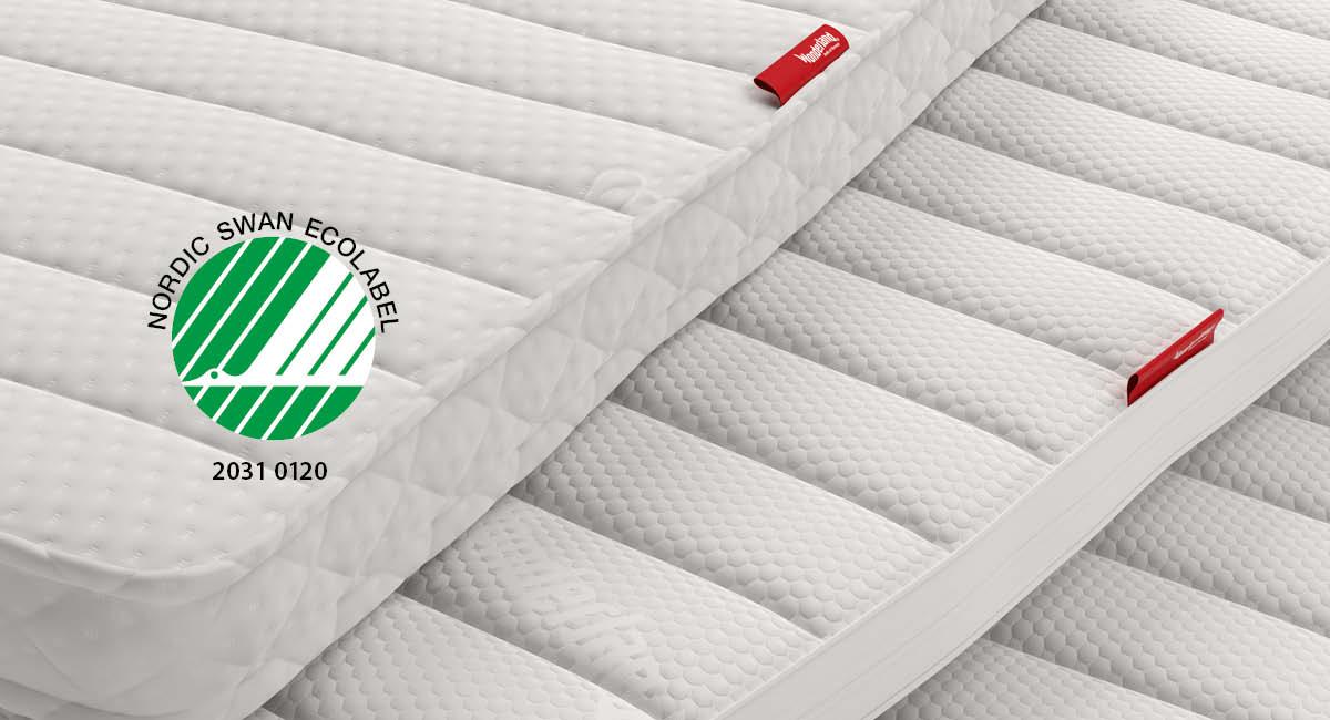 Wonderland Top Mattress Nordic Swan Ecolabel